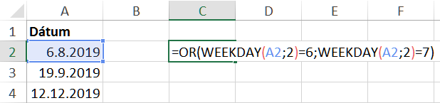sladké dátumové údaje lokalít